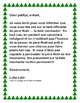 Projet d'écriture pour Noël (persuasive writing project)  French