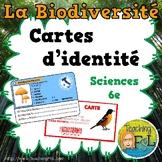 Projet de Biodiversité - Carte d'identité