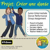 Projet de danse / French Immersion Dance Creation Projet