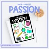 Projet passion - French Passion Project | Un projet de recherche