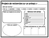 Projet de recherche sur un animal // French Animal Researc