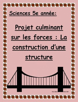 Projet de sciences 5e année/ Grade 5 sciences project: Les Forces