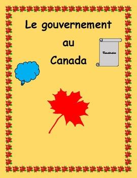 5e année: Projet final pour le gouvernement