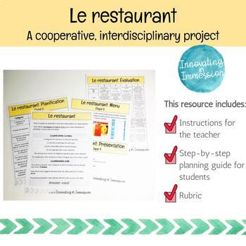 Projet interactif: Un restaurant (in French!)