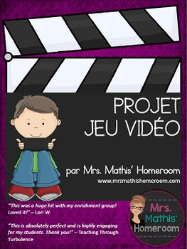 Projet jeu vidéo (Video Game Project in French)