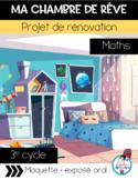 Projet maths-Ma chambre de rêve