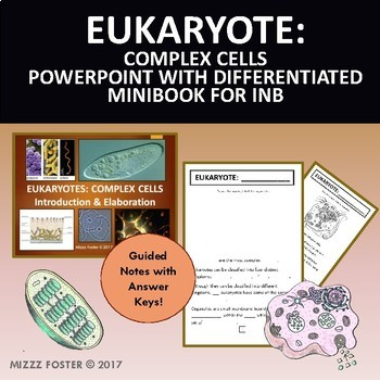 Prokaryote, Eukaryote & Virus Bundle: PowerPoints and Guided Notes for INB