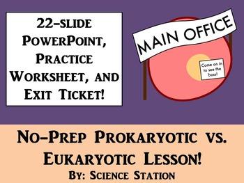 Prokaryotic Cells vs. Eukaryotic Cells