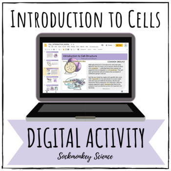 Prokaryotic and Eukaryotic Cells Digital Activity for Google - Distance Learning
