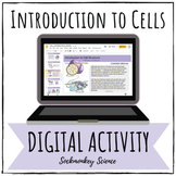 Prokaryotic and Eukaryotic Cells Digital Activity for Goog
