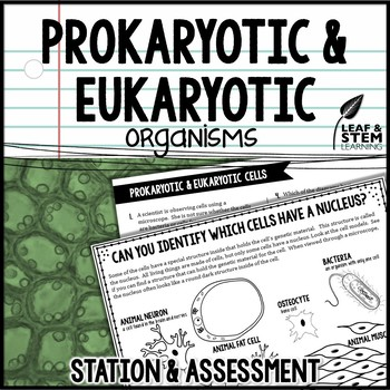 Prokaryotic and Eukaryotic Cells Science Center and Assessment