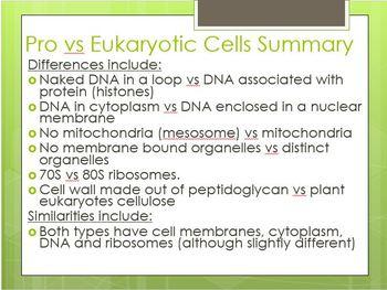 Prokaryotic vs. Eukaryotic Cell Inquiry Mini Unit