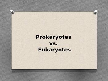 Prokaryotic vs Eukaryotic Cells PowerPoint