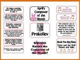 Prokofiev Composer of the Month (April) Bulletin Board Kit