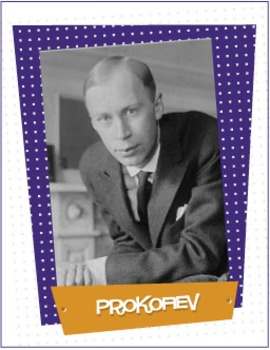 Prokofiev | Composer of the Month Bulletin Board Pack (Dig