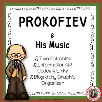 Music Composers: PROKOFIEV Foldables: Music Listening Activities