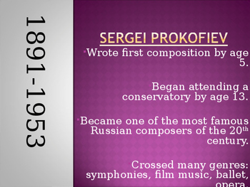 Prokofiev PPT