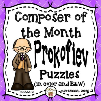 Prokofiev Puzzles (Composer of the Month)