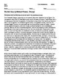 """Proliferation of Disease- Monet & Ebola """"From the Hot Zone"""""""