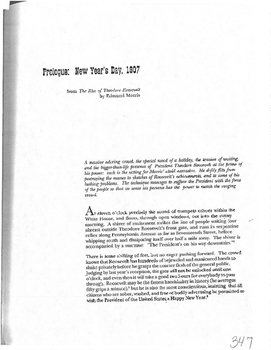 Prologue new Years Day 1907 PDF