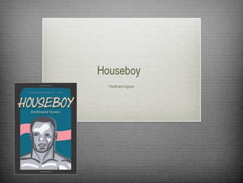 Prologue of Houseboy
