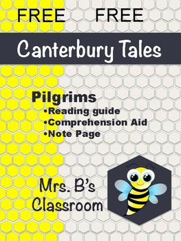 Prologue to Canterbury Tales - Reading Guide