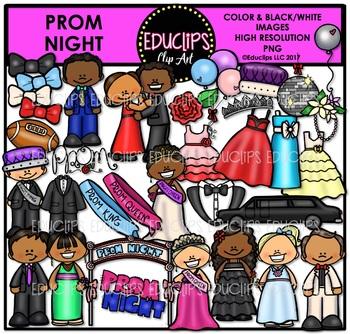 Prom Night Clip Art Bundle {Educlips Clipart}
