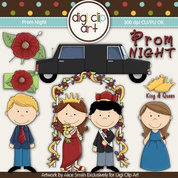Prom Night!- Digi Clip Art - CU Clip Art