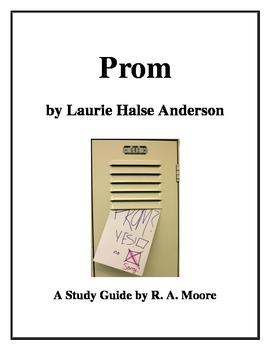 """""""Prom"""" by Laurie Halse Anderson: A Study Guide"""