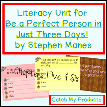 Be A Perfect Person in Just Three Days! Ch. 5 & 6 (Promethian Board)
