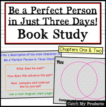 Be A Perfect Person in Just Three Days! Ch. 1 & 2 (Promethean Board)