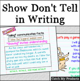 Writing Process : Show Don't Tell in Writing for Promethean Board