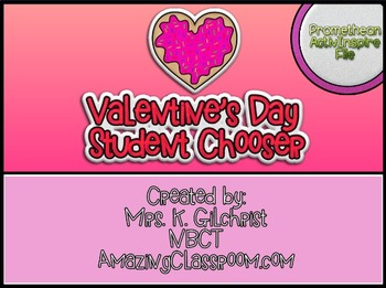 Promethean Board Valentine's Day Student Chooser