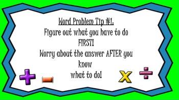 Promethean Flip Chart Word Problem Comprehension Skills ~ CCSS MATH