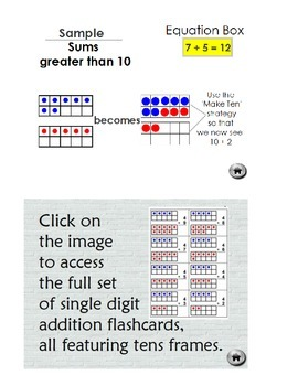 Promethean Flipchart: Addition Flashcards (CCSS 1.OA.6)