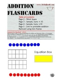 Promethean Flipchart: Addition Flashcards (CCSS 1.OA.6)