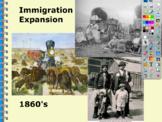 Promethean Flipchart for Westward Expansion/Industrialism