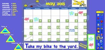 Promethean May 2015 Interactive Calendar