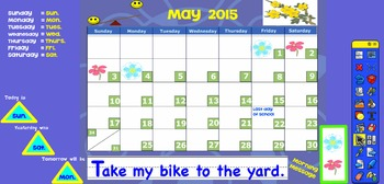 Promethean May 2015 Interactive Calendar