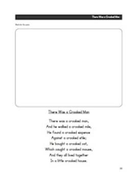 Promethean: Nursery Rhymes Poetry Unit (Year Long) *Bundle*