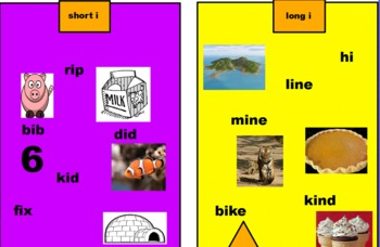 Promethean Planet Interactive Short and Long Vowel Ii sort