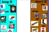 Promethean Planet Interactive Short and Long Vowel Oo sort