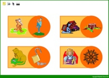 Promethean: Practice determining if two pictures rhyme
