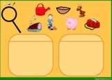 Promethean: Sorting pictures by short vowel sound