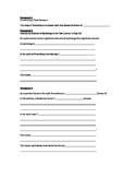 Prometheus Essay Template