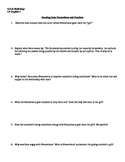 Prometheus and Pandora Questions/Quiz