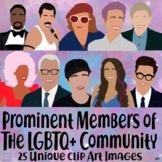 Prominent Members of the LGBTQ Community Clip Art Set