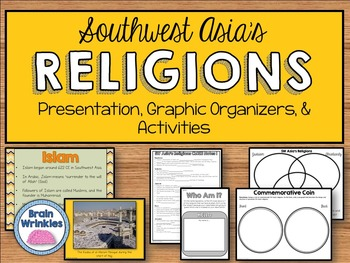 Prominent Religions in Southwest Asia - Judaism, Christianity, Islam (SS7G8)