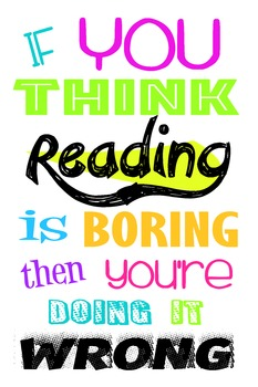 Promote Reading Poster