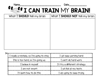 Promote a GROWTH MINDSET with these!